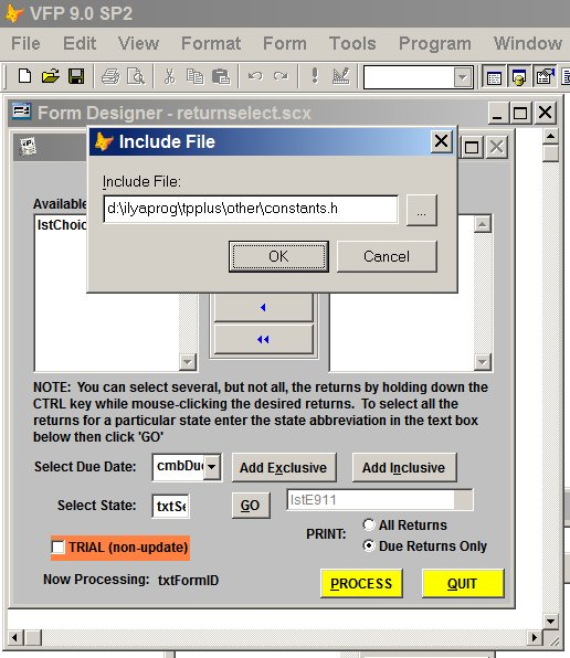 how to read visual fox pro 7 file