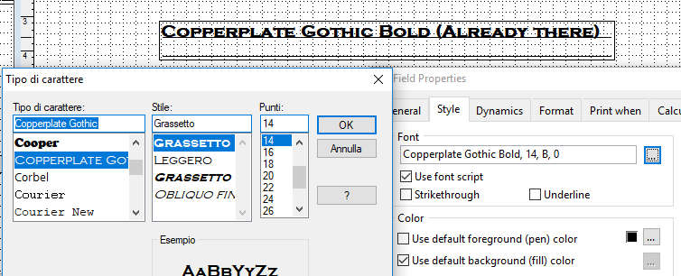 Missing fonts on win10 | Foxite