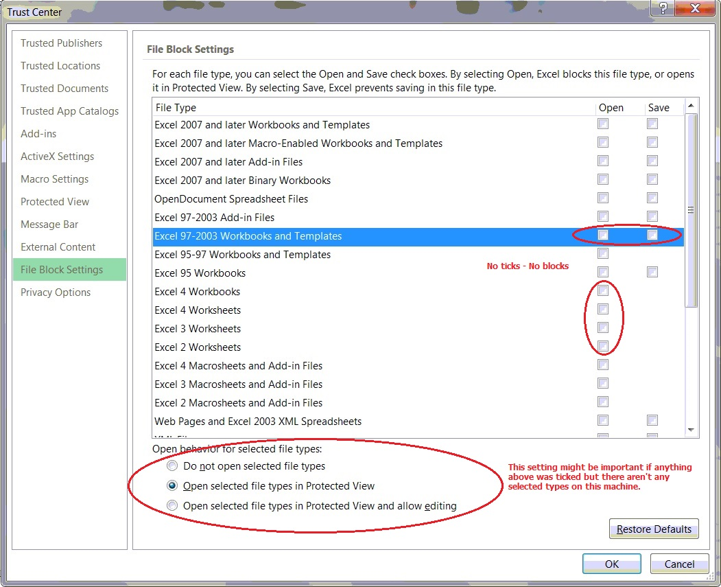 Workbooks microsoft excel 2007 workbook : Excel Trust Center Incorrect Error (Posted by Paul Gibson) - www ...